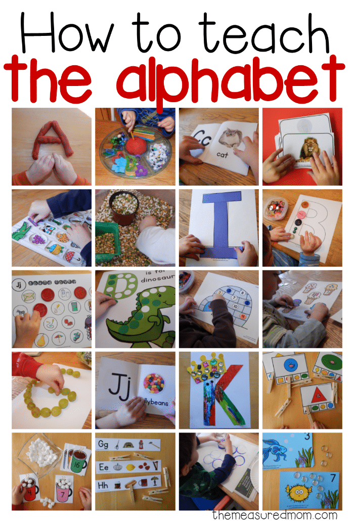 101 Alphabet Activities and Printables - This Reading Mama