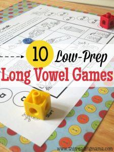 long vowel games!