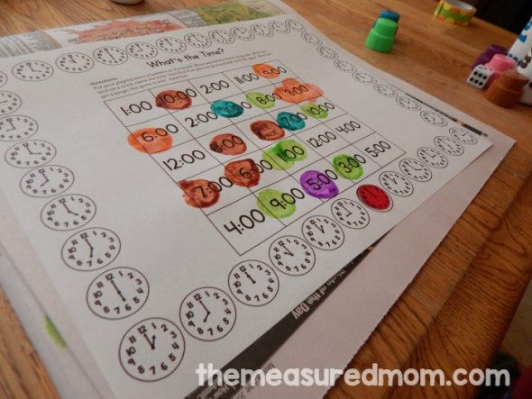 If you're looking for telling time activities, you'll love these 3 free games. Just print and play!