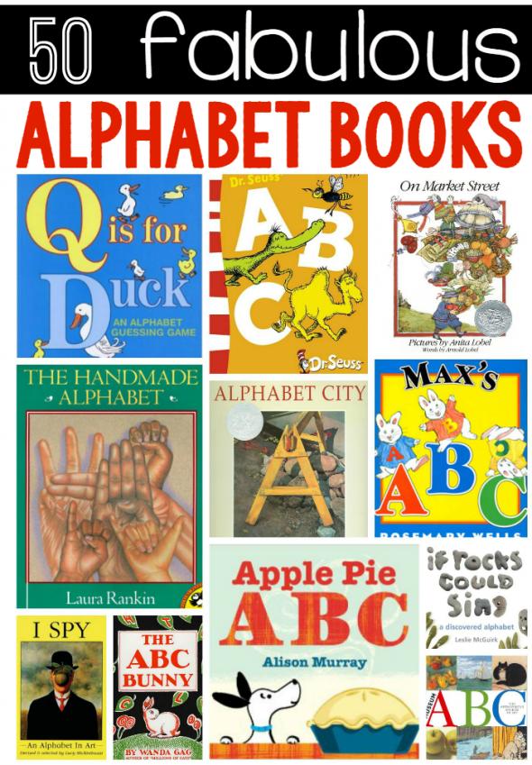50 fabulous alphabet books