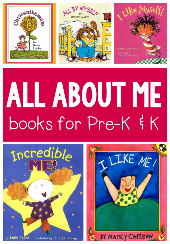 All About Me books for preschool and kindergarten - The