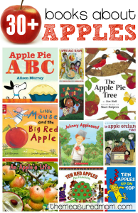 30 books about apples