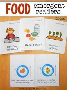 Food emergent readers
