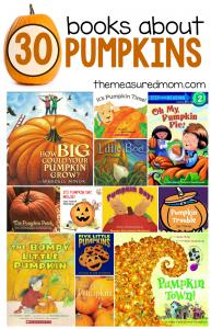 30 books about pumpkins