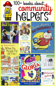100+ books about community helpers