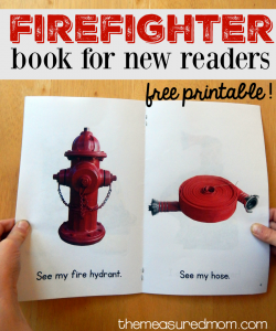 Free nonfiction book for kids: firefighters!