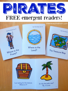 pirate emergent readers