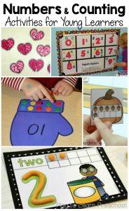 Favorite number activities for preschoolers