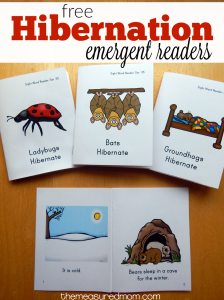 Free early reader books about animals that hibernate