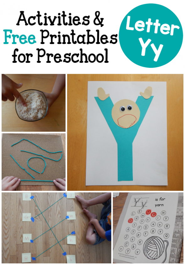 letter y crafts letter y activities for preschool the measured 23304 | letter Y activities for preschol 590x843