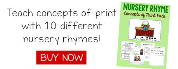 Nursery rhyme pack link to buy