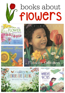 Books about flowers for kids