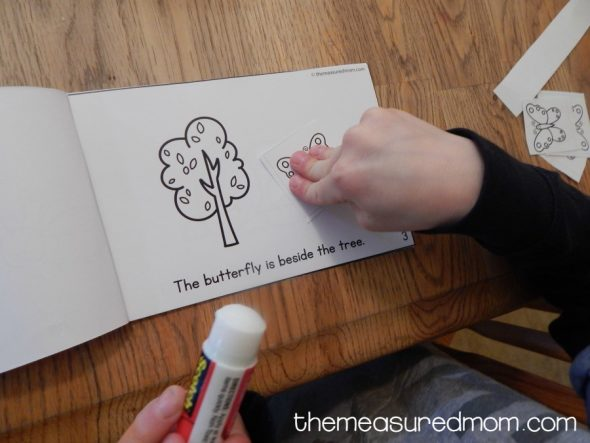 free positional words activity the measured mom