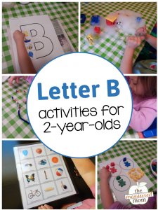 Letter B Activities for 2-Year-Olds
