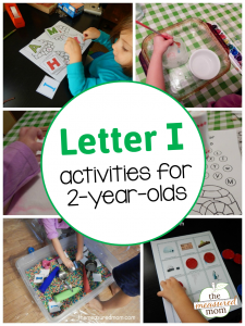 Letter I Activities for 2-year-olds