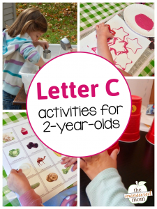 Letter C Activities for 2-year-olds