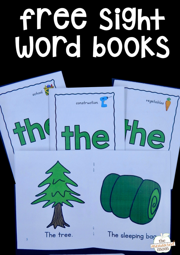 free-sight-word-books-the
