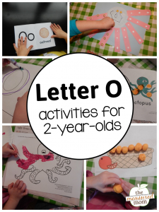 Letter O Activities for 2-year-olds