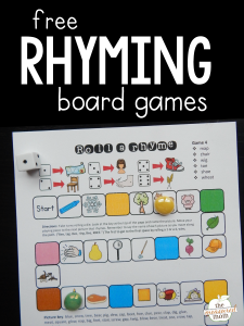 New rhyming words game