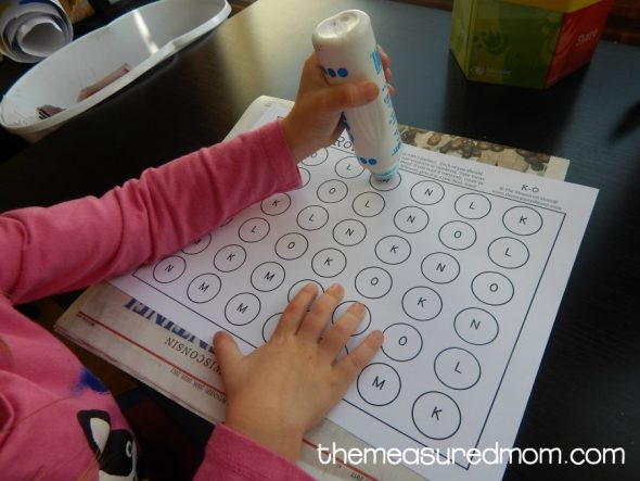 Try these free alphabet games to help your child master letter recognition!