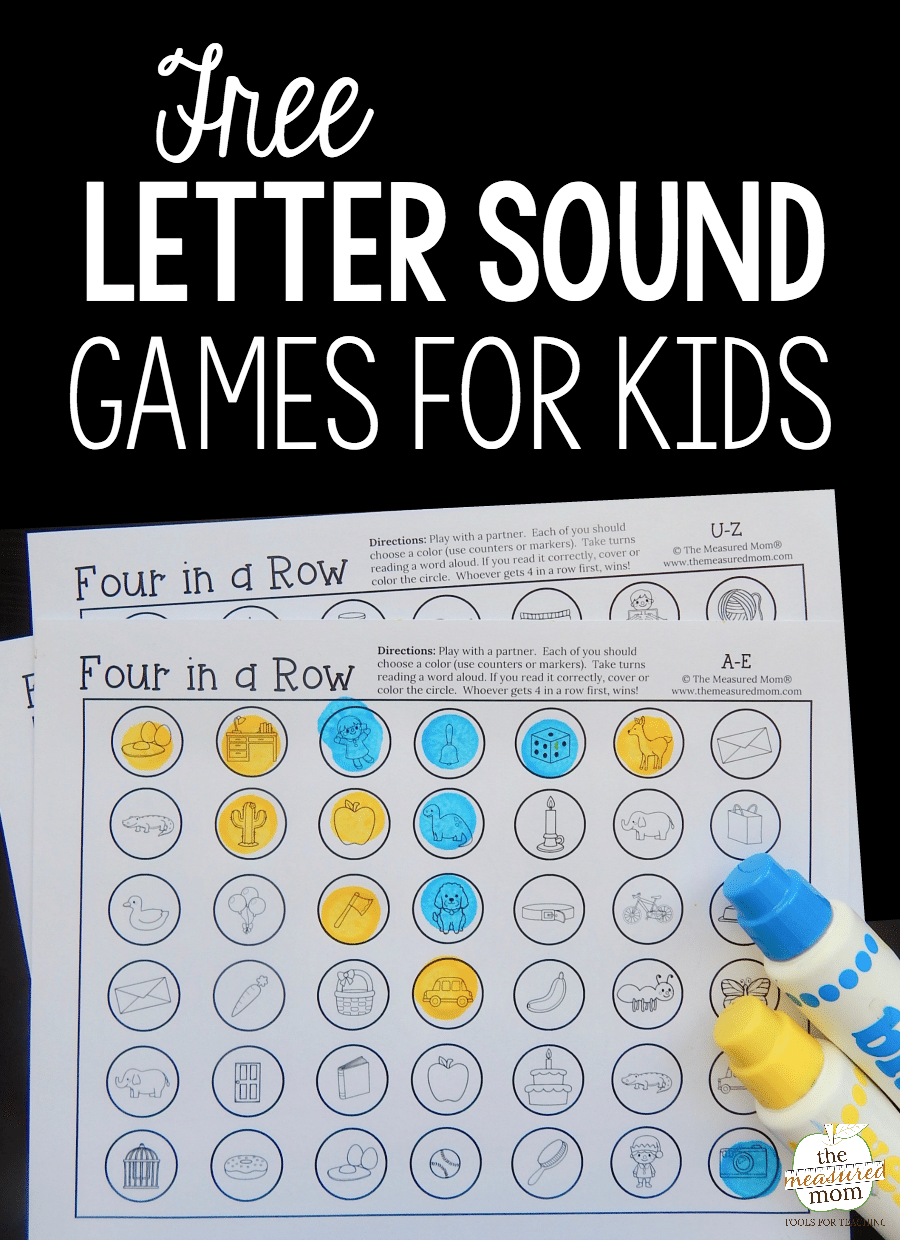 use these free games for some letter sounds review the
