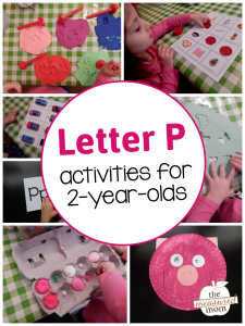 Letter P Activities for toddlers