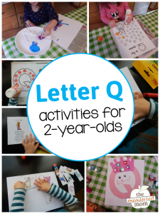 Letter Q Activities for 2-Year-Olds