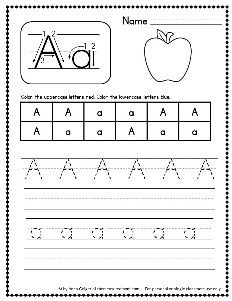 Worksheets For Mothers : Handwriting worksheets the measured mom