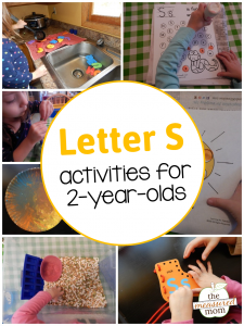 Letter S Activities for 2-year-olds