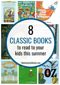 Classic books to read aloud this summer (plus a giveaway!)