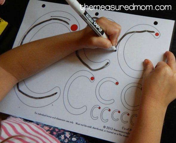 Avoid these five mistakes when teaching handwriting to your preschooler!