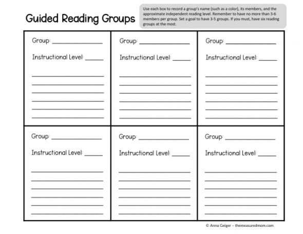 Learn how to form your guided reading groups with this simple 4-step method!