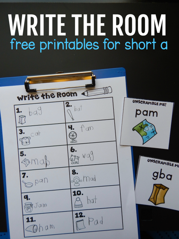 image promoting a write the room activity