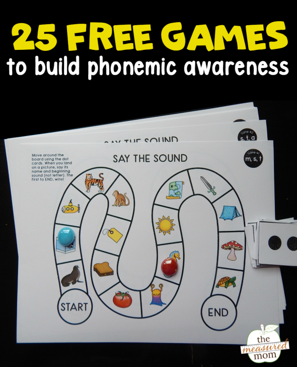 phonemic awareness games