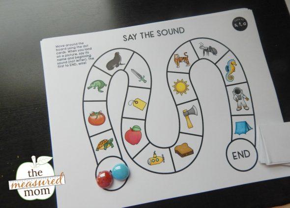 phonemic awareness game