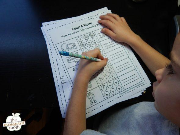 Grab this set of free short e worksheets!