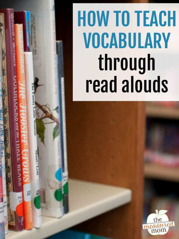 Learn how to build vocabulary through simple read alouds!