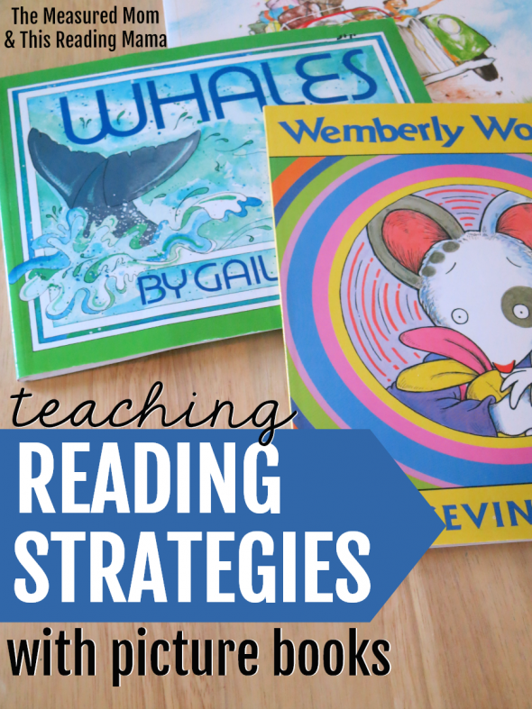 Introducing a new blog series that will show you exactly how to teach reading strategies with picture books!