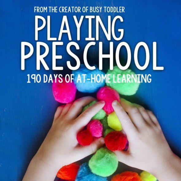 image of preschool curriculum cover