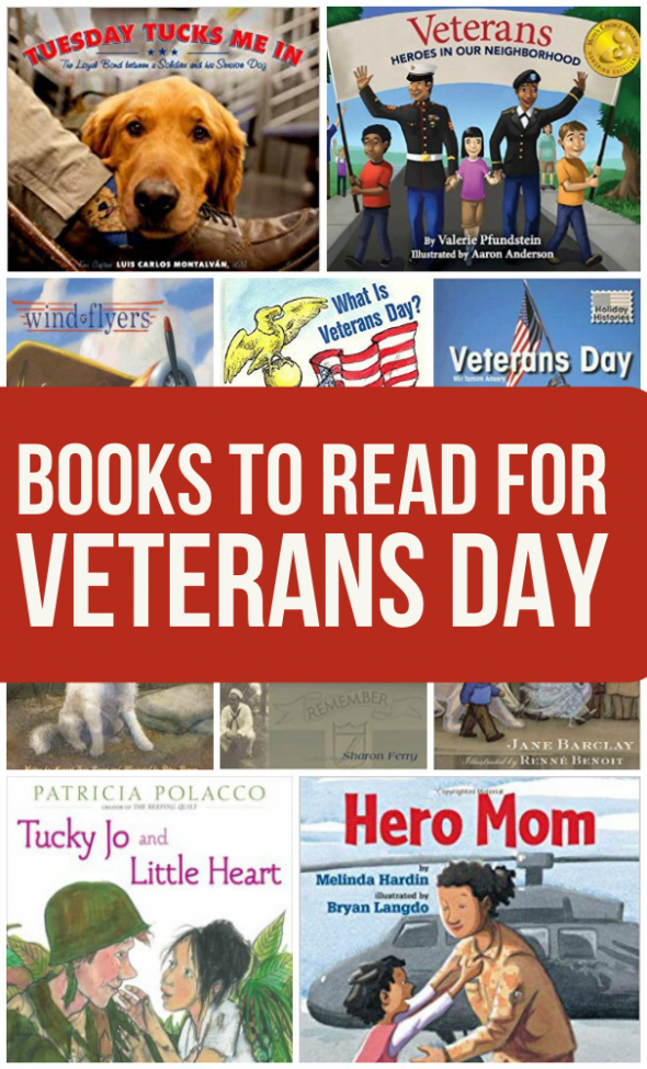 books about veterans day