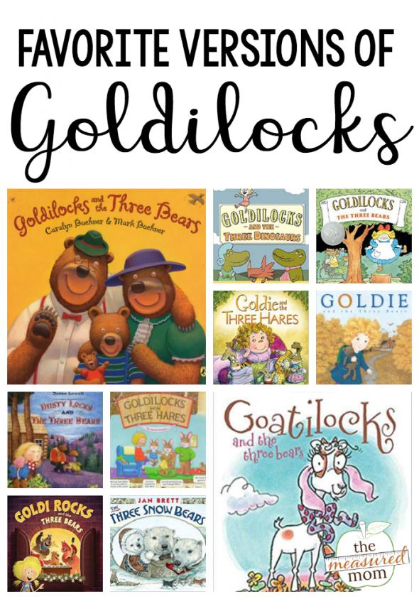books about goldilocks