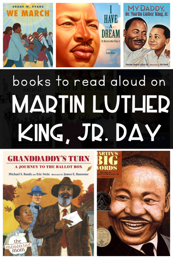 Books For Martin Luther King Jr Day The Measured Mom