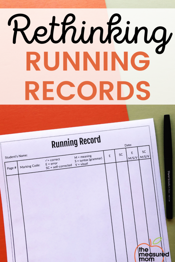 Many teachers use running records to find student reading levels and discover strengths and weaknesses. but are they really valuable? Here's why it's time to rethink running records.