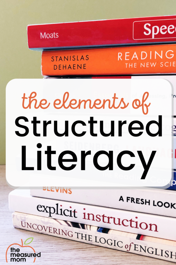 Learn the elements of structured literacy